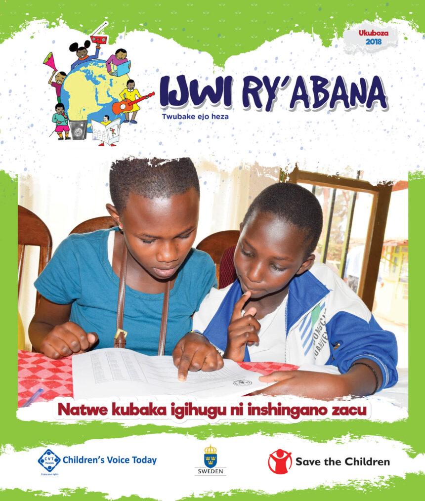 Ijwi Ry'Abana Magazine No.6